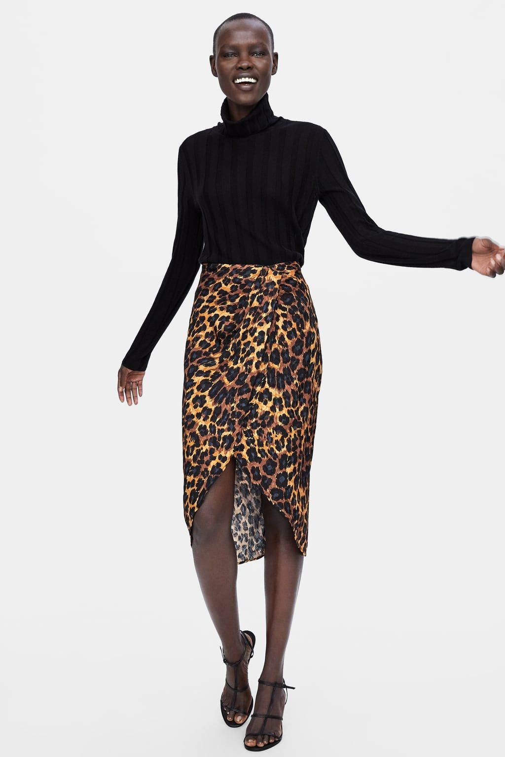 a6286c940b FALDA ESTAMPADO ANIMAL in 2019 | Fashion - Zara SS/FW15 | Animal ...