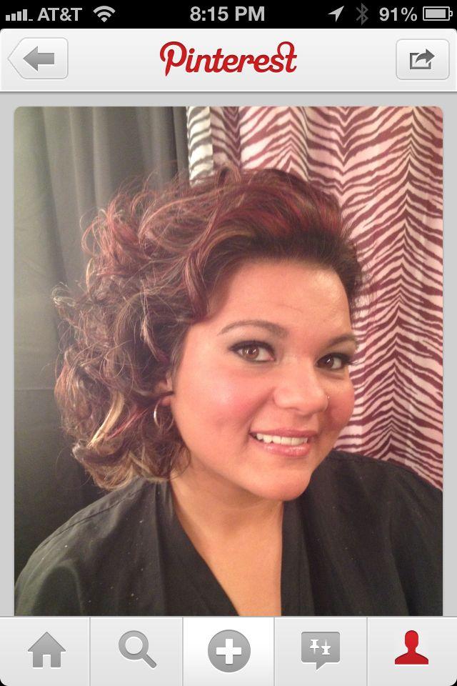 Curls!!! Wedding hair