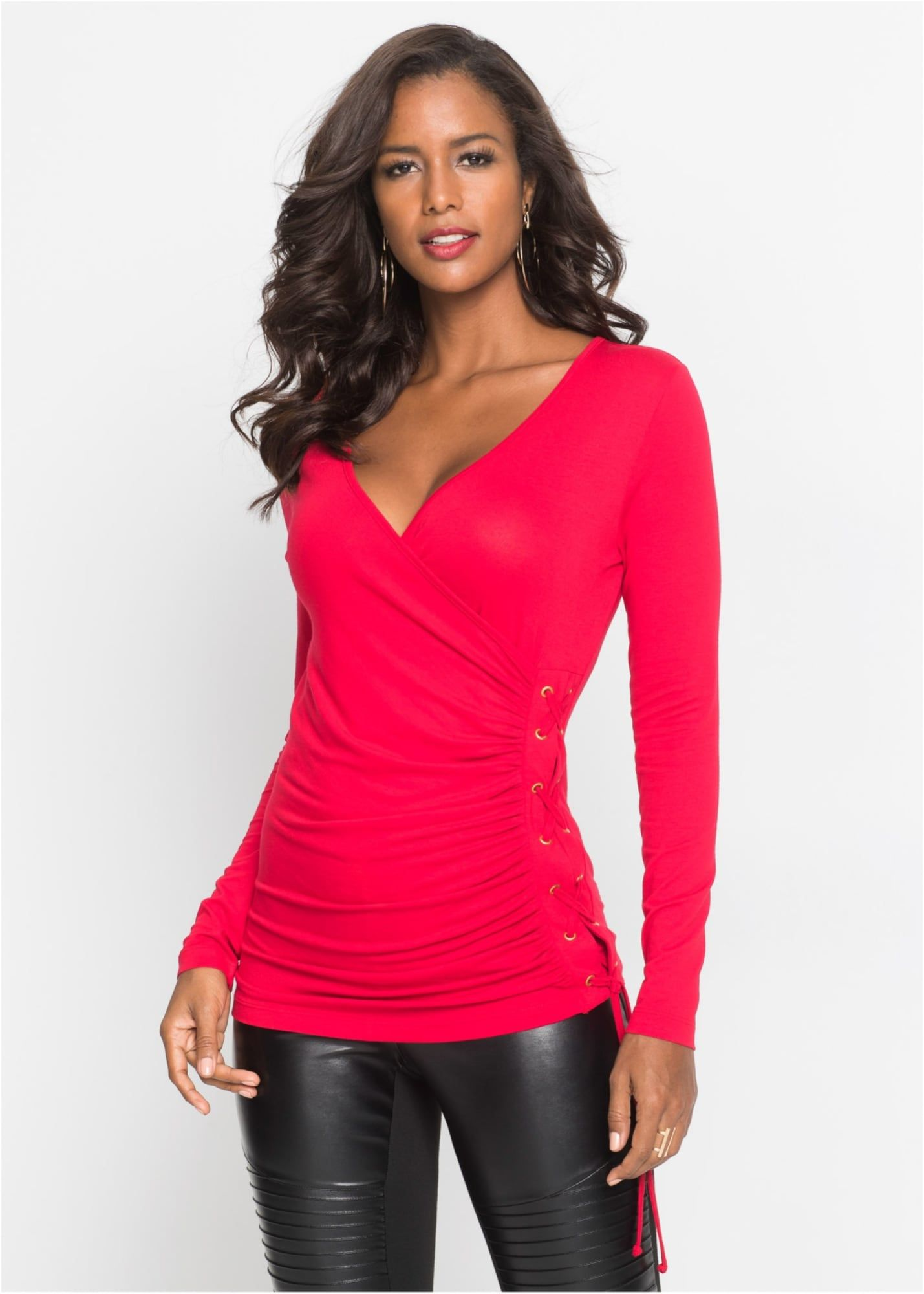 Photo of bonprix top in neon red