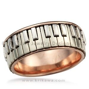Piano Ring This Ring Is Perfect For The Music Lover Or Pianist