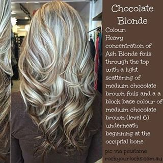 Chocolate Blonde Hair Google Search