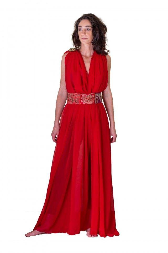 Vestido de la mujer griega