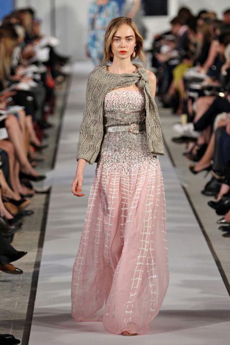 Oscar de la Renta dress #dress