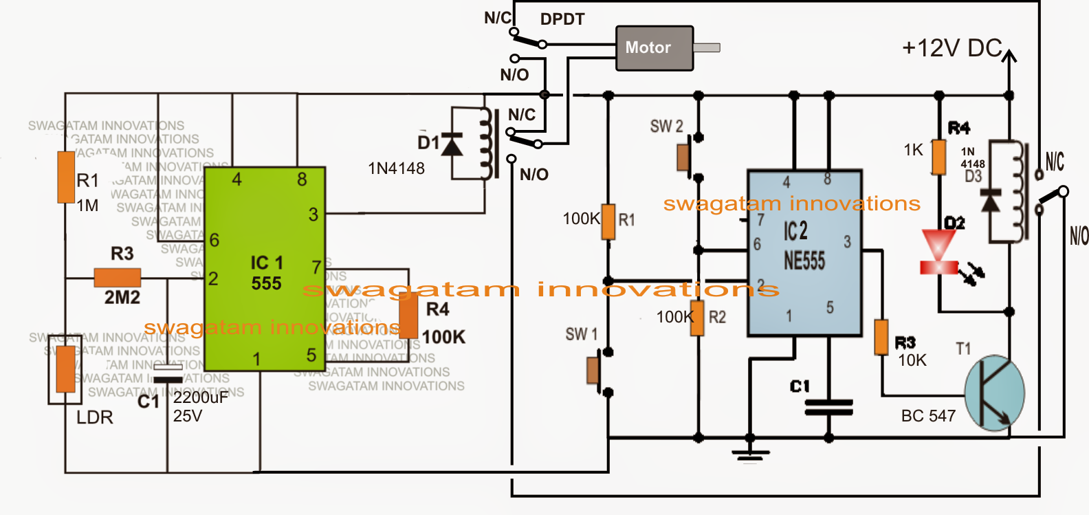 Water Flow Valve Timer Controller Circuit - Electronic Circuit ... on