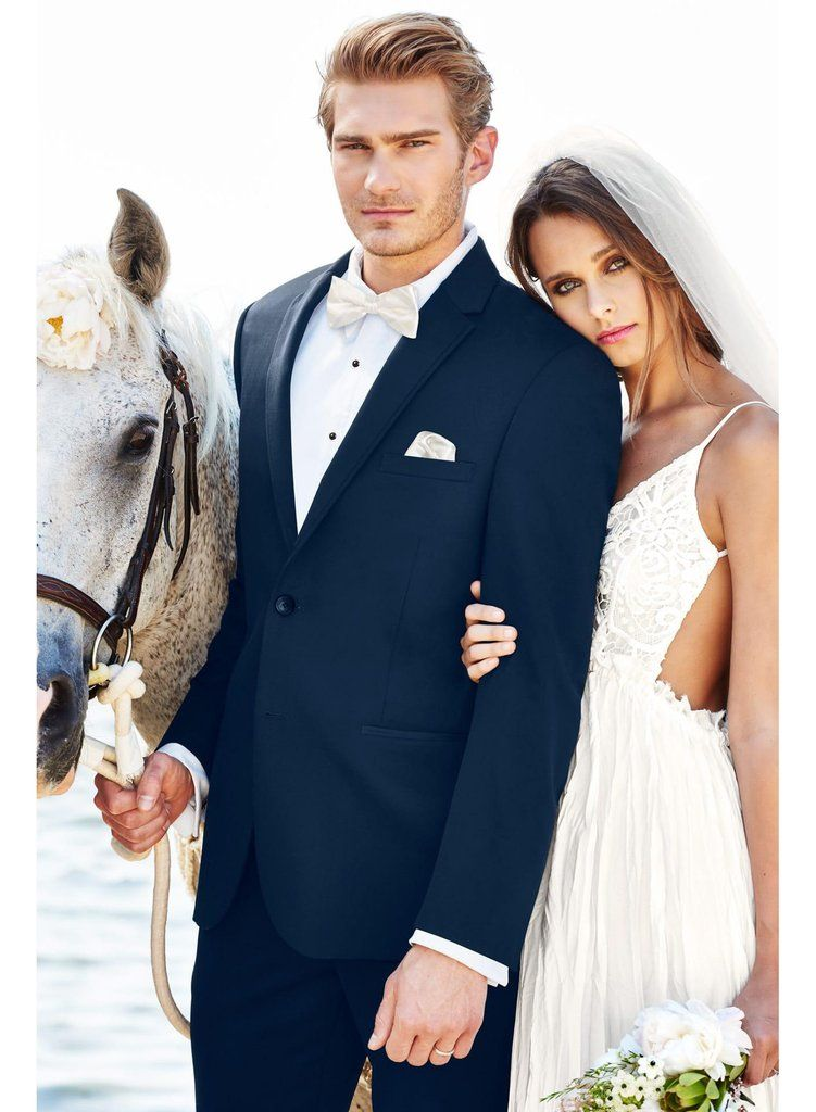 Michael Kors: Navy Sterling Slim Fit Wedding Suit   DHGATE COM ...
