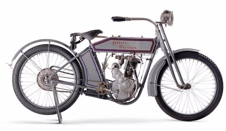 1913 HARLEY-DAVIDSON MODEL 9B \'5-35\' SINGLE Frame no. 1914D Engine ...