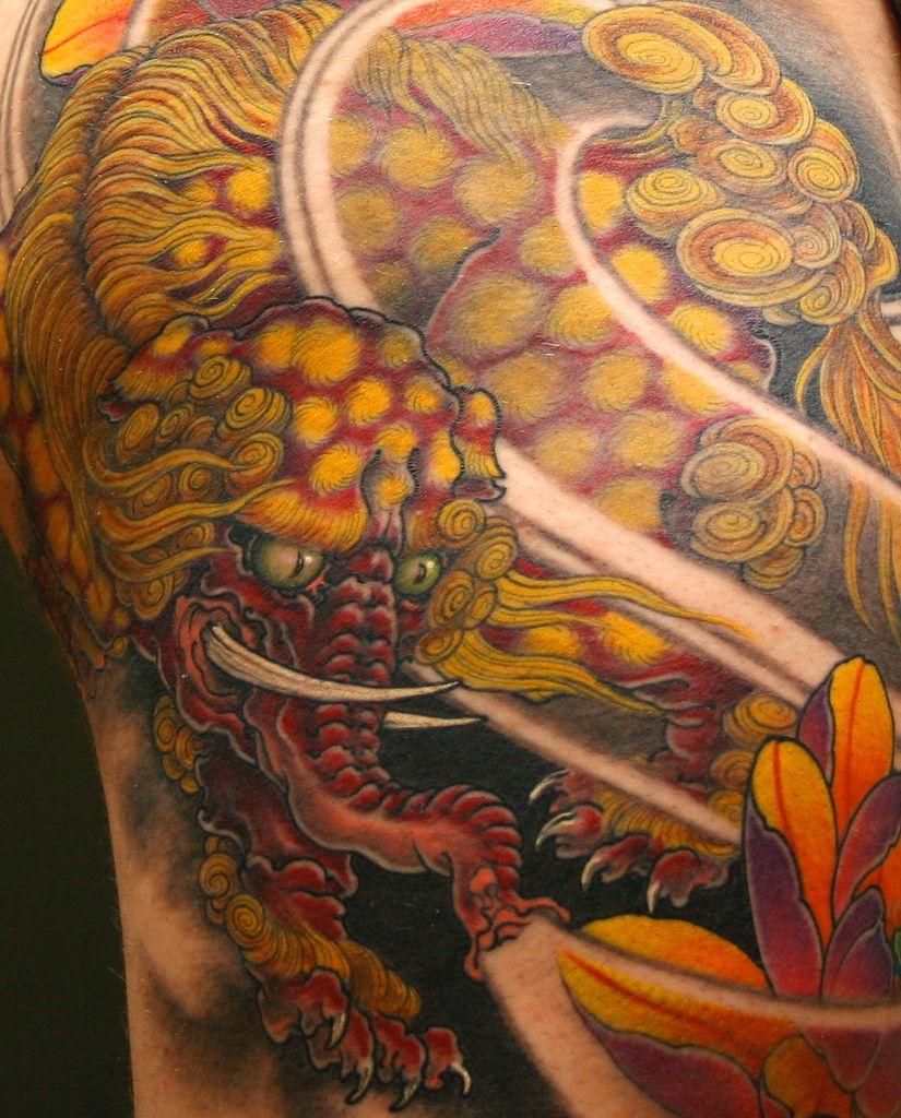 Baku Japanese Tattoo Elephant Tattoo Design Japanese Dragon
