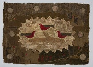 Collectino Of Textile Museum Canada C 1879 Ontario Rug Hooking Pinterest And Museums