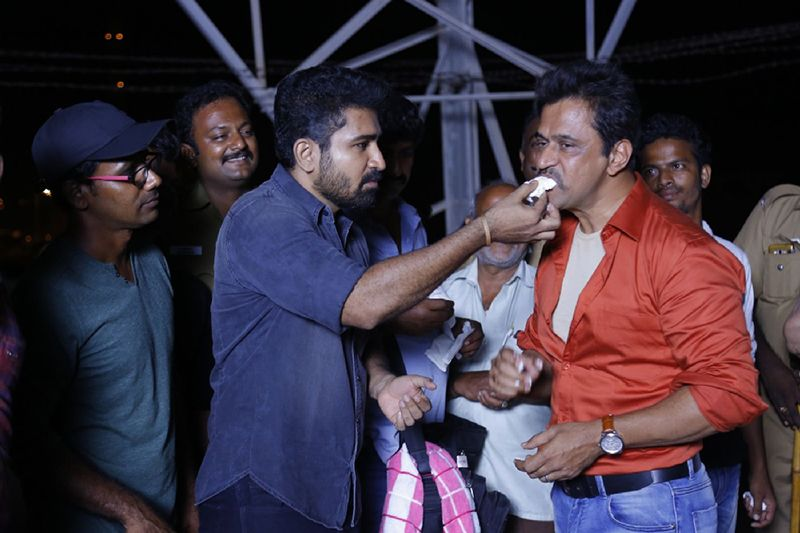 Arjun Completes his Portion for Kolaigaran