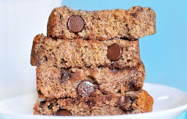 best banana bread ever!! We made this yesterday and the entire loaf is gone already!!