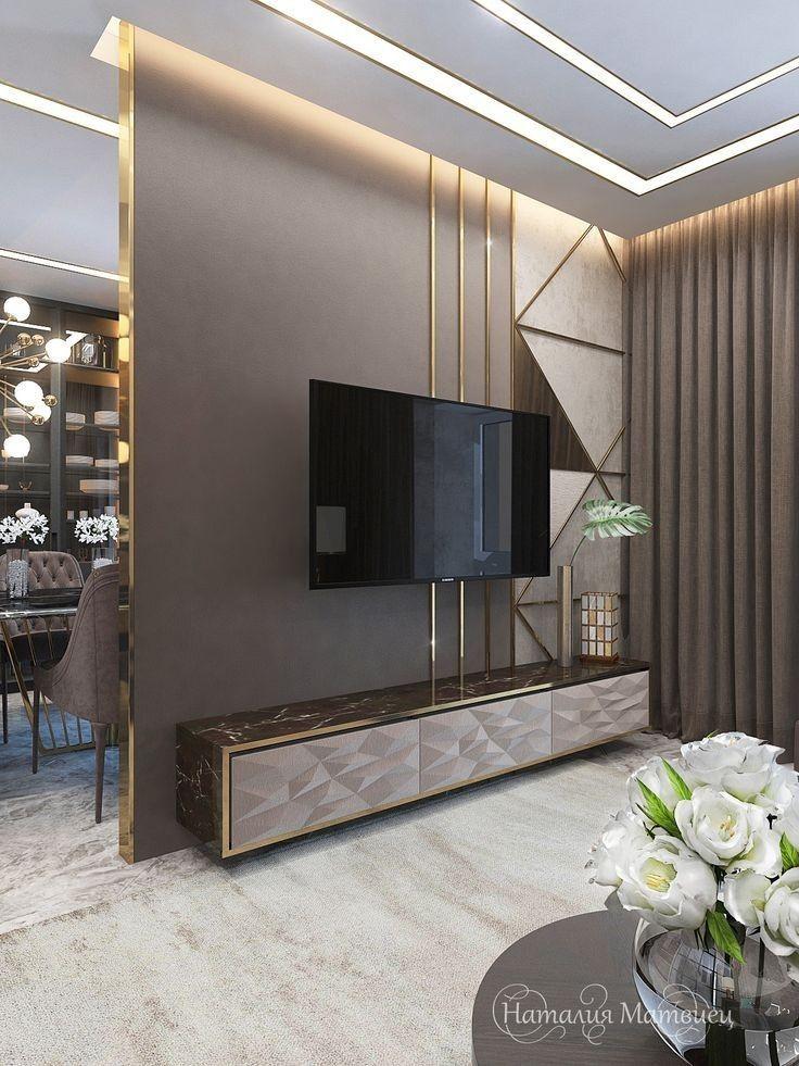 Lcd Panel Tv Unit Design For Living Drawing Room Bedroom: الجواد للديكور 03223715