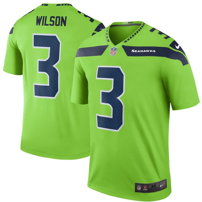 reputable site b0a74 57851 Russell Wilson Seattle Seahawks Nike Color Rush Legend ...