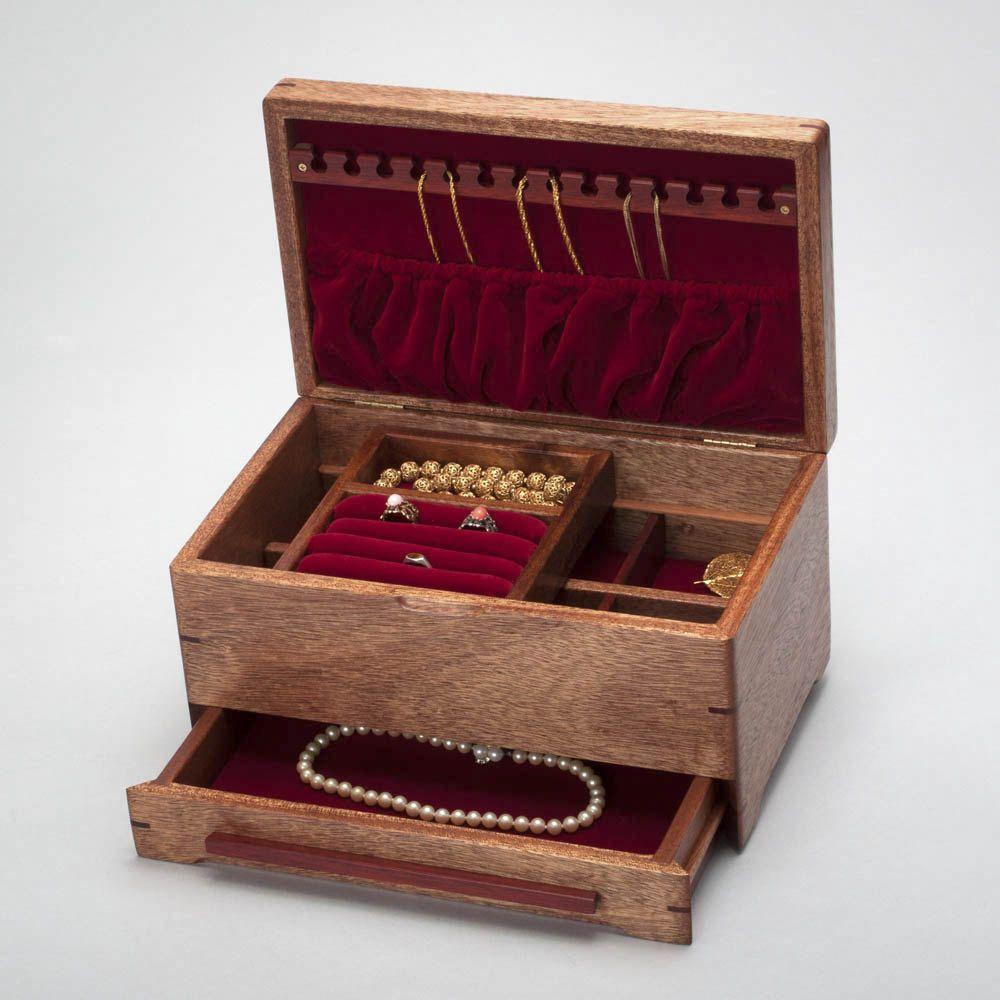 Large Jewelry Box Organizer Jewelry Accessory Organizer w Ring