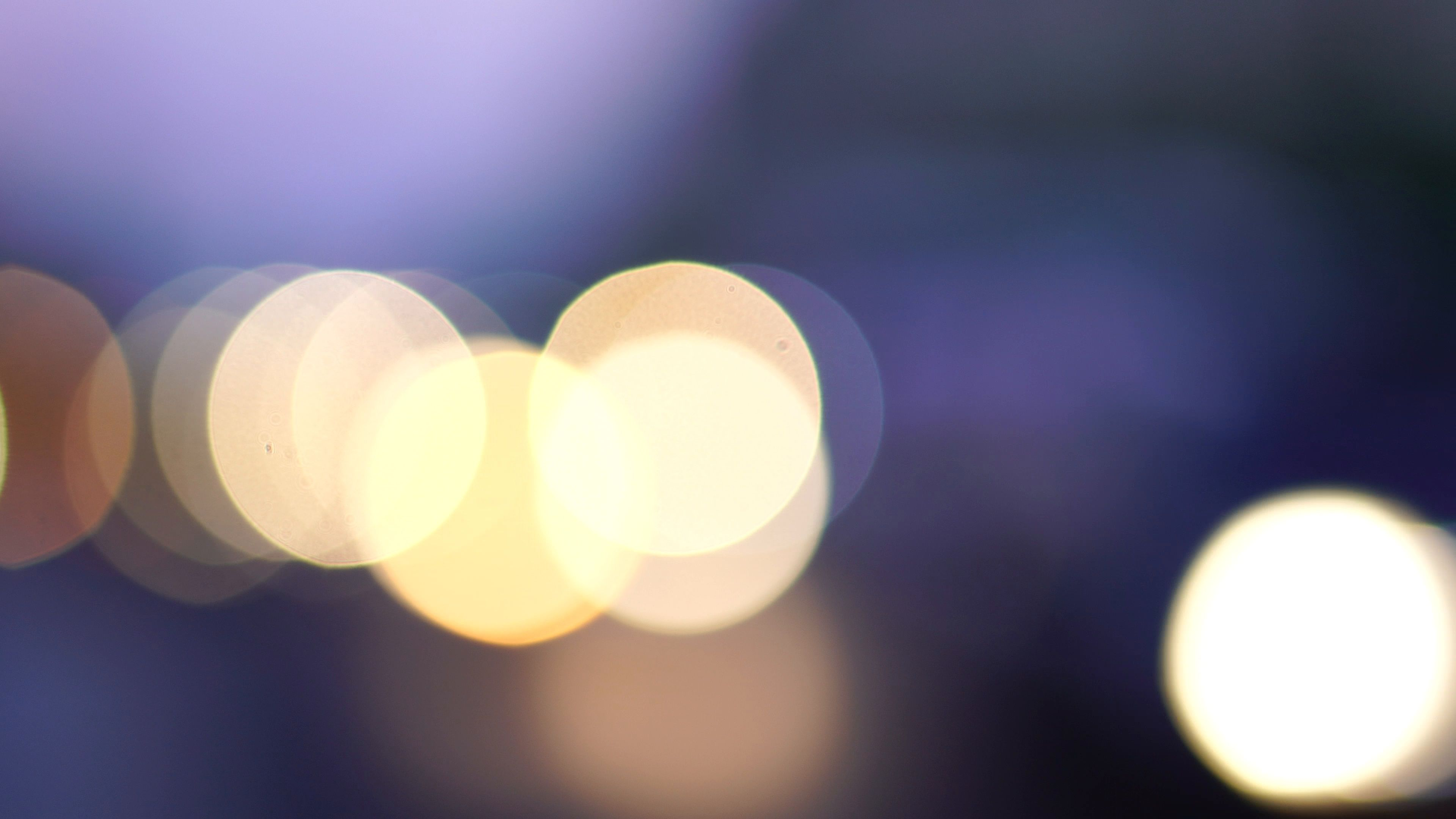 Blur Lights Effect Background Bokeh Multicolored Blur City Lights