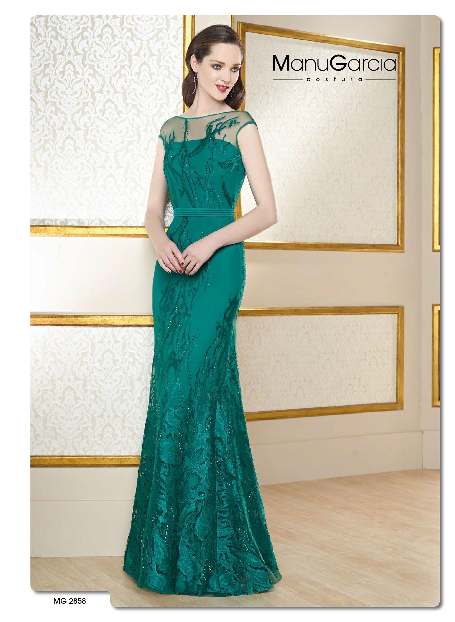 vestido-de-fiesta-manu-garcia-4 | dress | Pinterest | Vestidos de ...