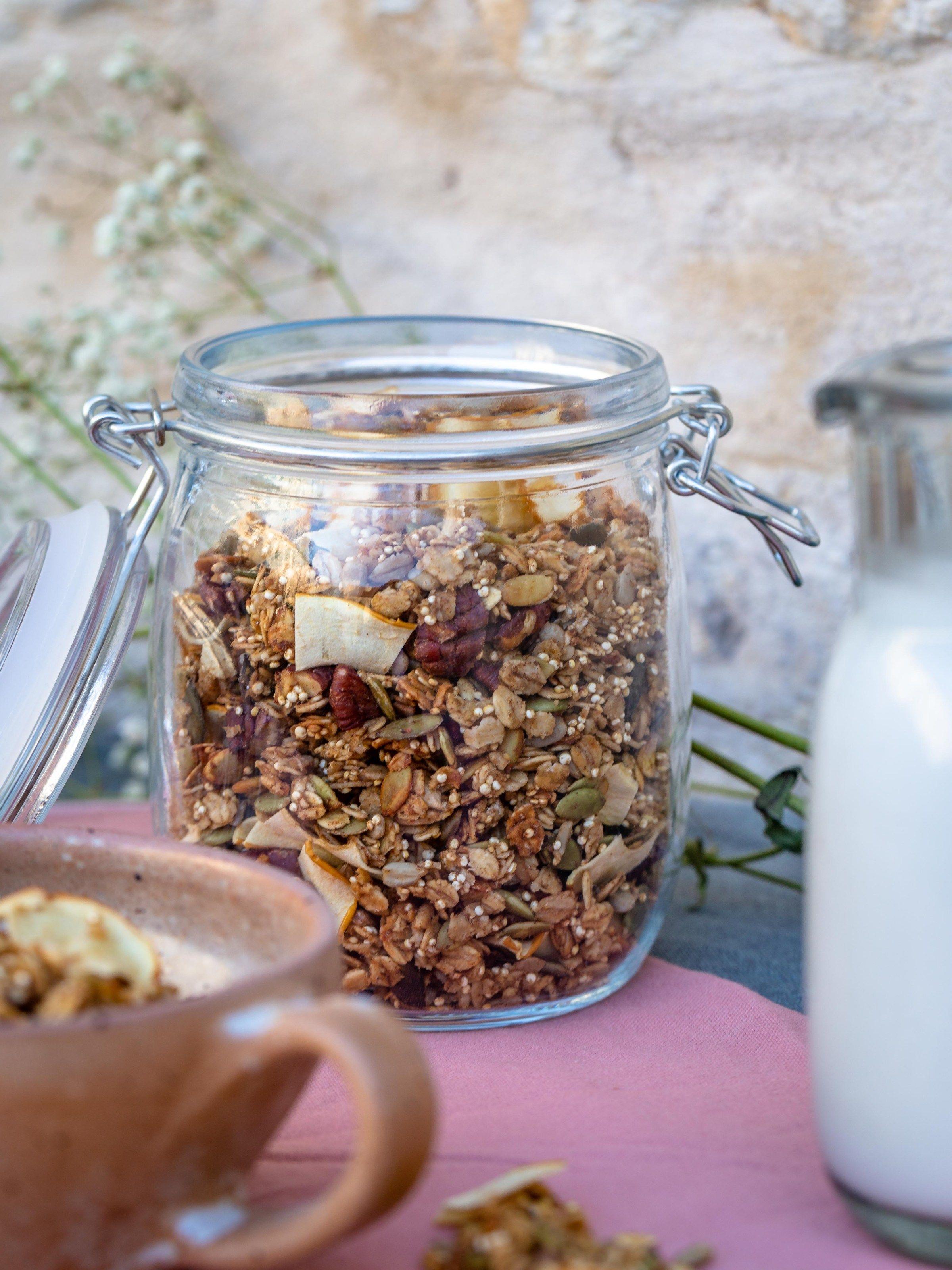 Idée Repas Groupe Granola Automnal   Free The Pickle | Recette | Idée recette, Repas