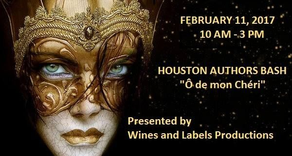 Houston Author's Bash...a book signing/Networking party presented by Wines and Labels Productions