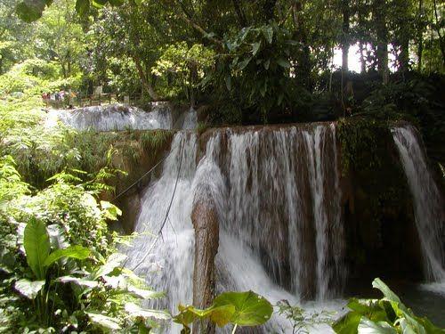 Cascadas agua azul en Chiapas