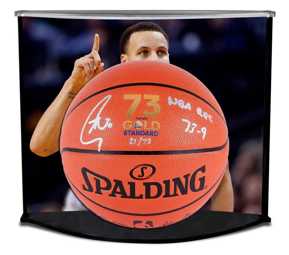 new arrival 64f92 c5fd4 STEPHEN CURRY Autographed
