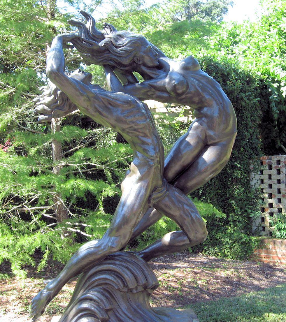 Brookgreen Gardens Locountry Trail, sculpture garden, garden ...