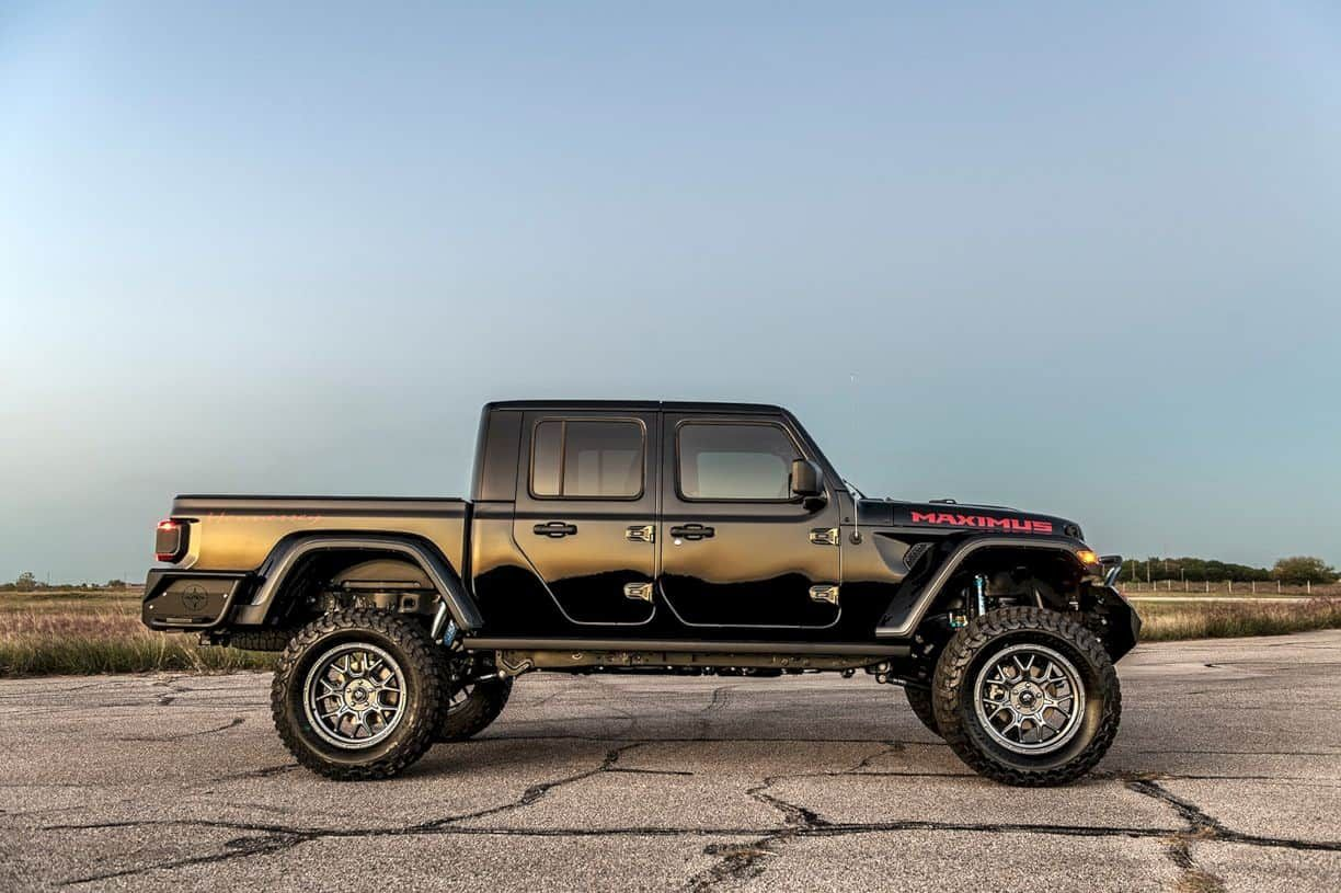 Hennessey Maximus The Ultimate Jeep Gladiator In 2020 Jeep