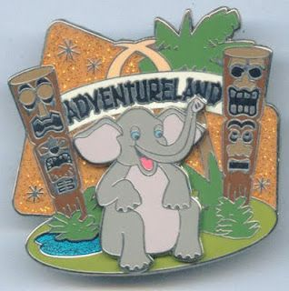 ADVENTURELAND Disney Pin