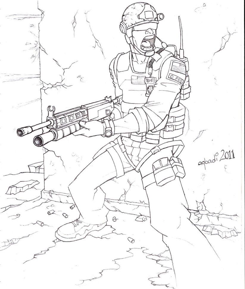 Call of Duty Coloring Pages - Bing images | Coloring pages for ...