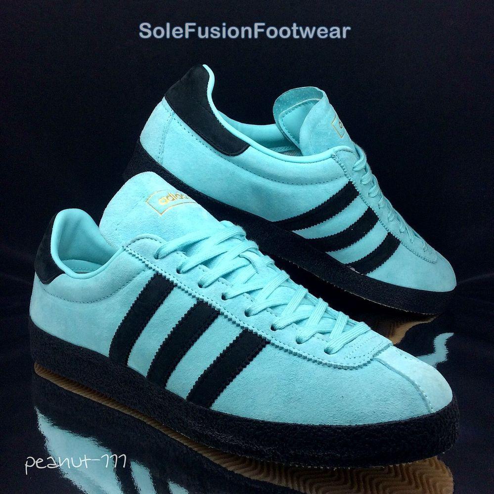 adidas Mens Originals Topanga Trainers Blue/Black size 11 Sneakers US 11.5  EU 46 |