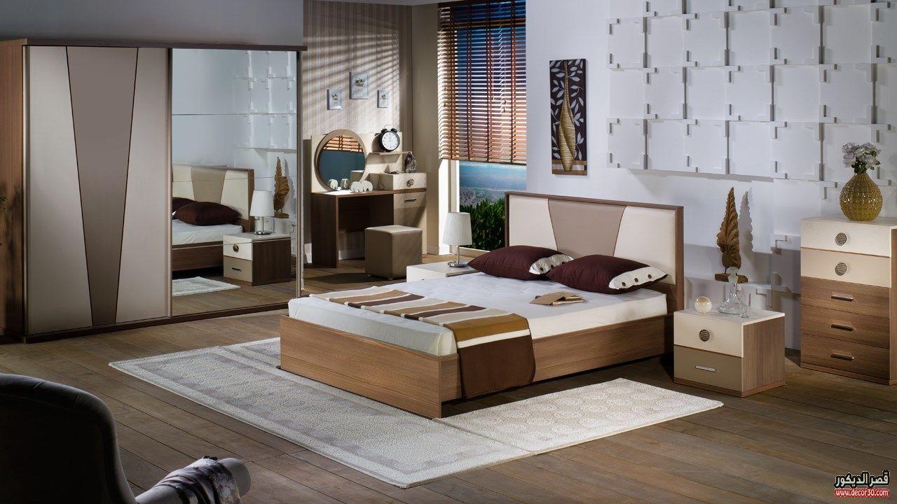 اشكال غرف نوم كاملة بالدولاب جرار 2018 قصر الديكور Luxurious Bedrooms Furniture Bedroom Set