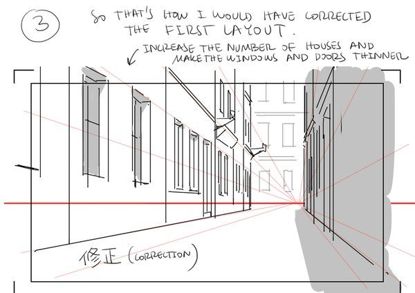 Tips For Drawing Backgrounds Thomas Romain Perspective Drawing Drawings