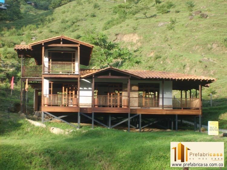 Casas prefabricadas medellin casitas en 2019 house house in the woods y home - In house casas prefabricadas ...