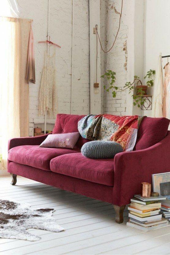 Marsala farbe 2015 in der innenausstattung deco heaven wohnzimmer samt sofa m bel - Innenausstattung wohnzimmer ...