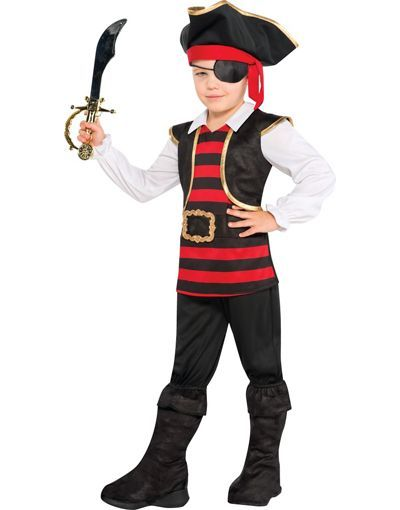 Toddler Boys Little Looter Pirate Costume - Party City