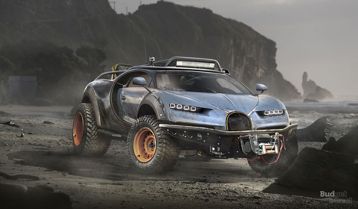 Budget Direct Renders 7 Sports Cars Built For Off Roading Top Speed Super Cars Sports Cars Offroad