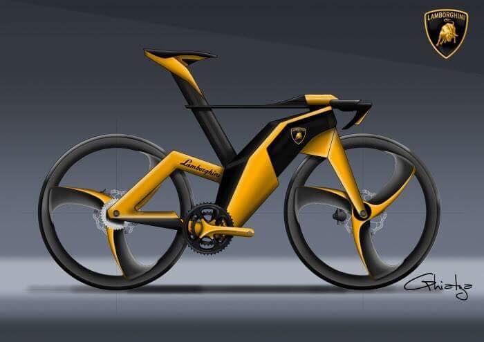 Mikael Ghiatza Lamborghini Concept Bike Premium Bike