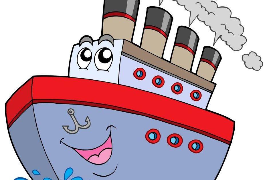 Pin By Tew Jin Yee On Simple Cartoon Boat Ship Boat Cartoon Cartoon Boat Ship Boat Transparent Background Png Clipa Boat Cartoon Simple Cartoon Cartoon Ships