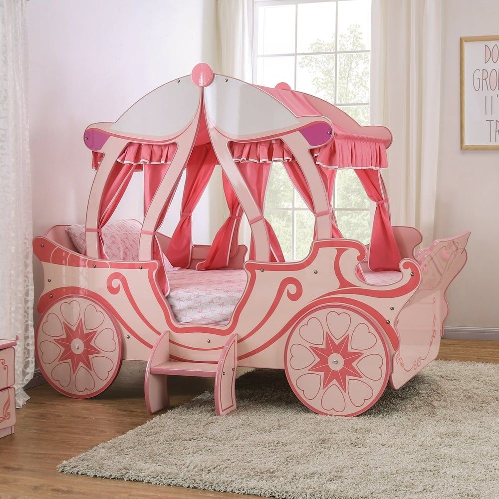Taylor Olive Rose Pink Pumpkin Carriage Bed In 2020 Carriage