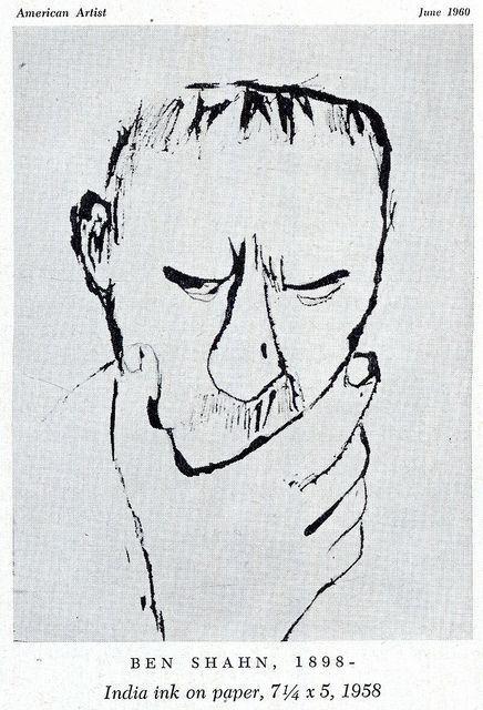 Ben Shahn 2d Drawings Pinterest Dessin Dessin Stylise And Croquis