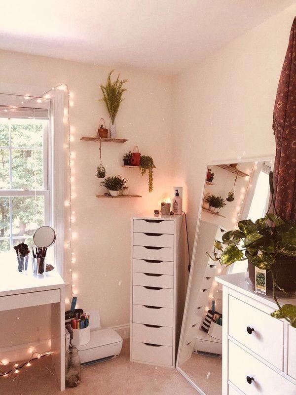 Über 28 einfache Make up Raum Ideen Organizer Aufbewahrung und Dekoration Dekoration