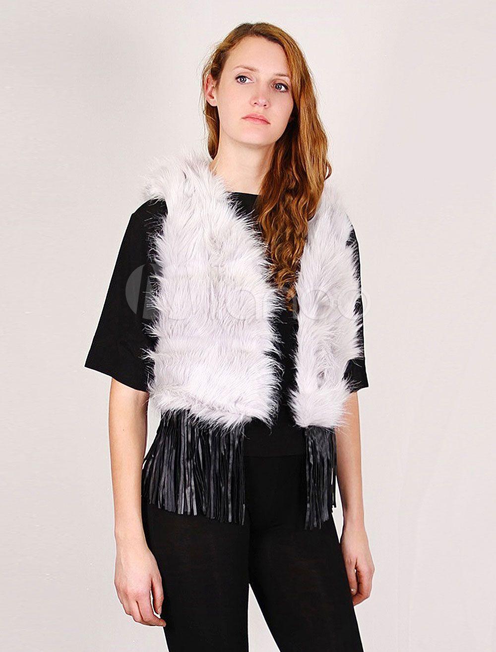 Photo de femme en manteau de fourrure