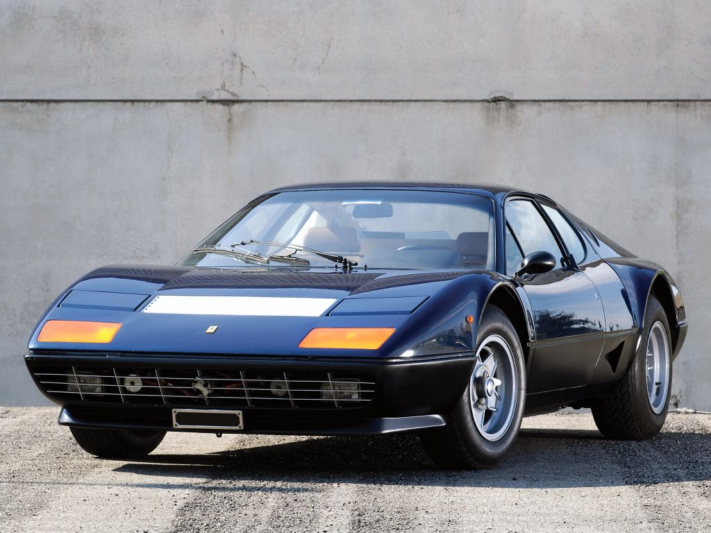 Ferrari 512 BB UK-spec '1976–81