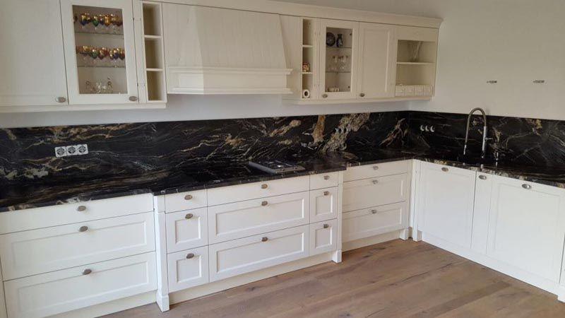 Küche Granit montage der belvedere granit rückwände in köln granit küche