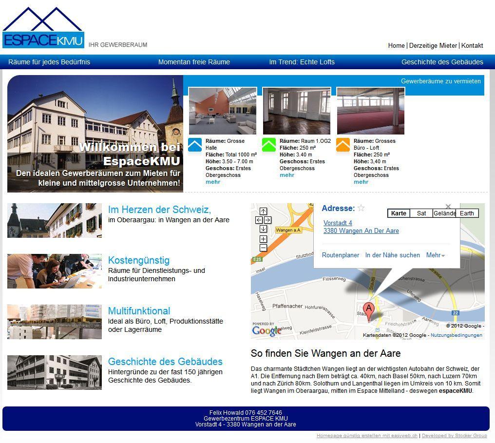 Espace Kmu Suiza Desktop Screenshot