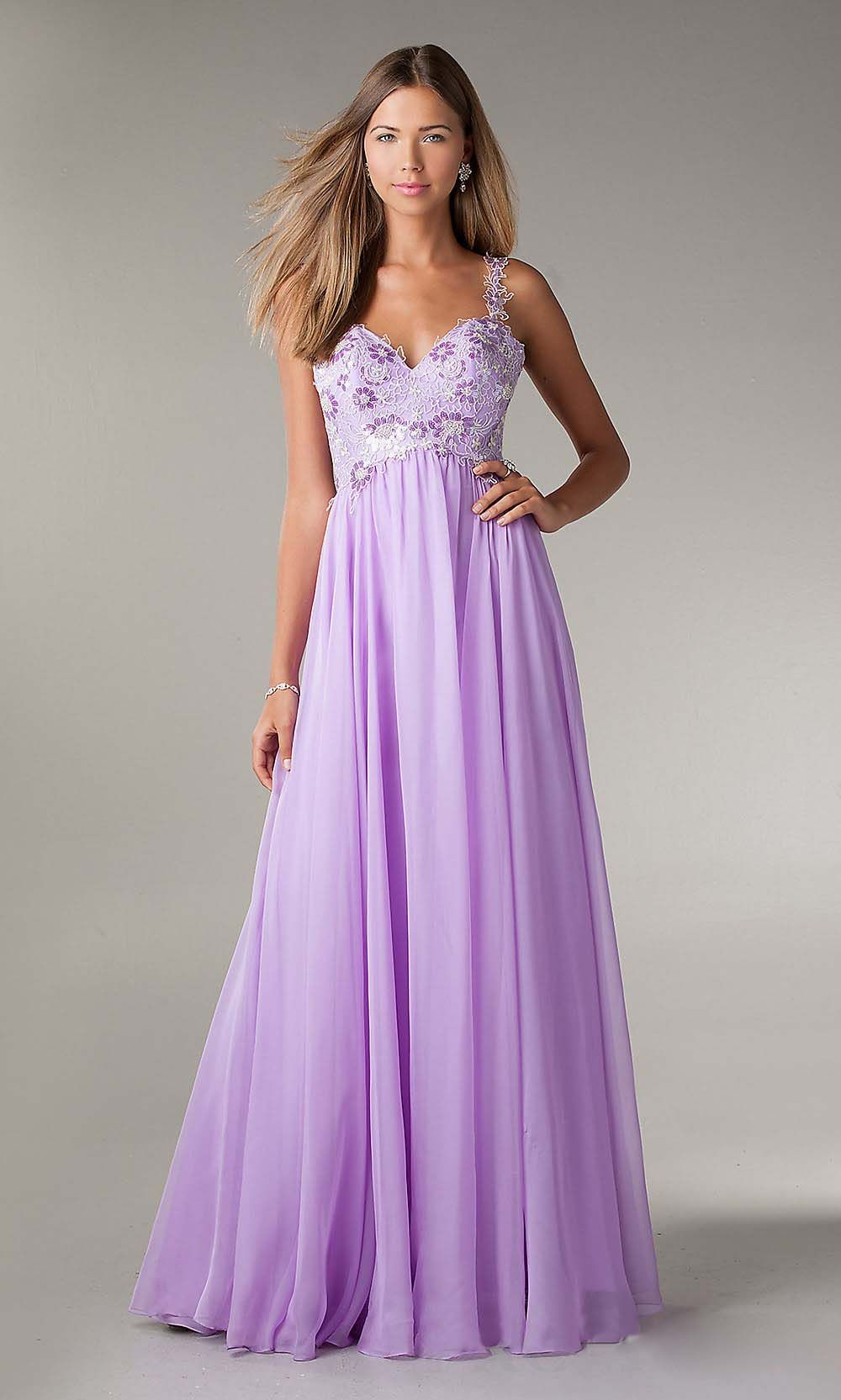 Beautiful prom dress things i love pinterest for Cheap lavender wedding dresses