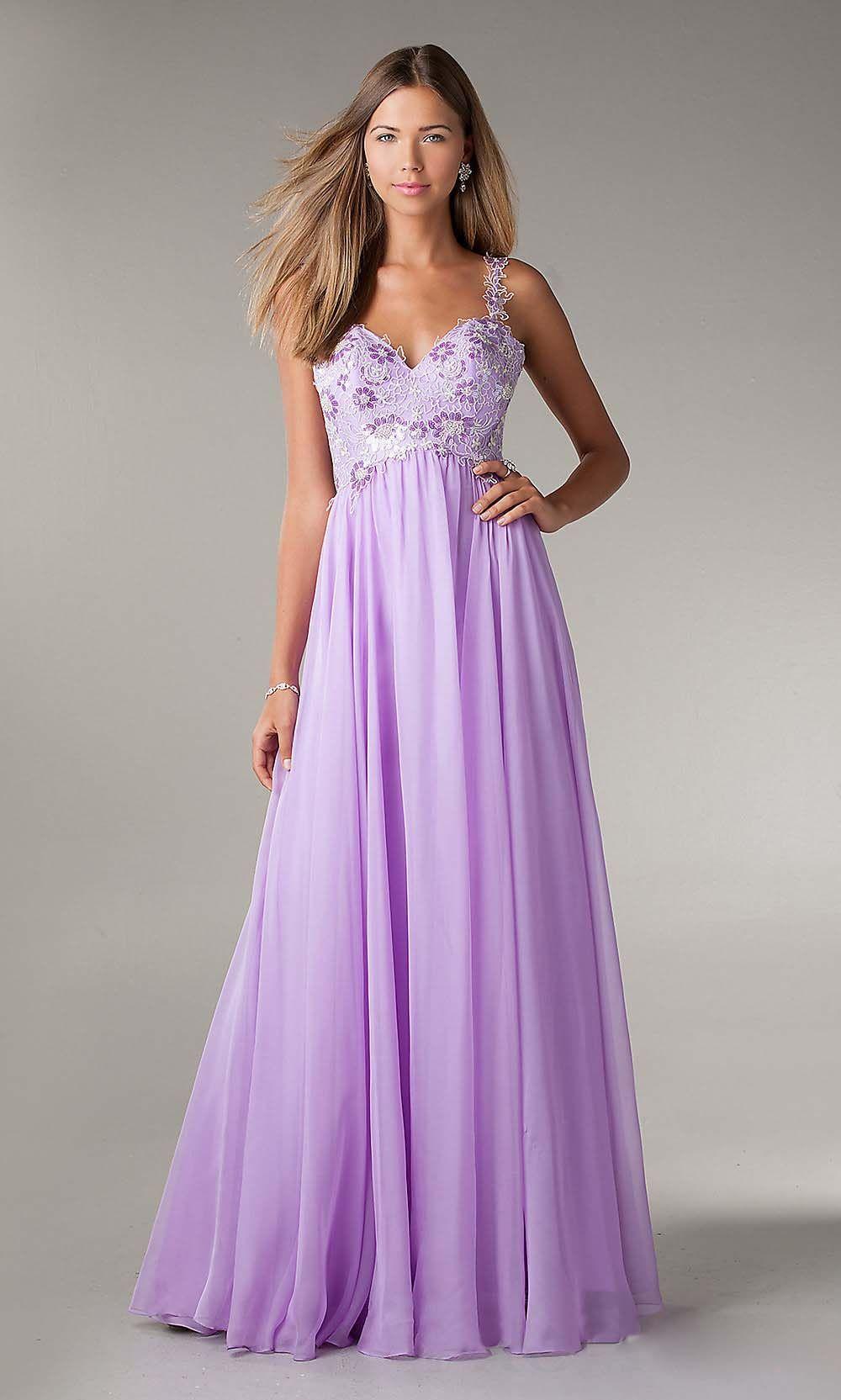 beautiful prom dress | Things I love❤ | Pinterest | Lavender prom ...