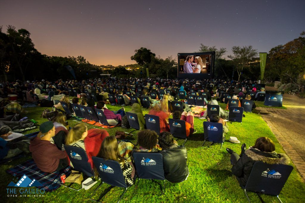 The Galileo Open Air Cinema Cape town travel, Cape town
