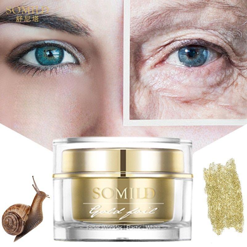 Somild 24k Gold Face Cream Snail Essence Anti Aging Skin Care Wrinkle Blemish Remove Korean Anti Wrinkle Face Cream Anti Aging Skin Products Skin Care Wrinkles