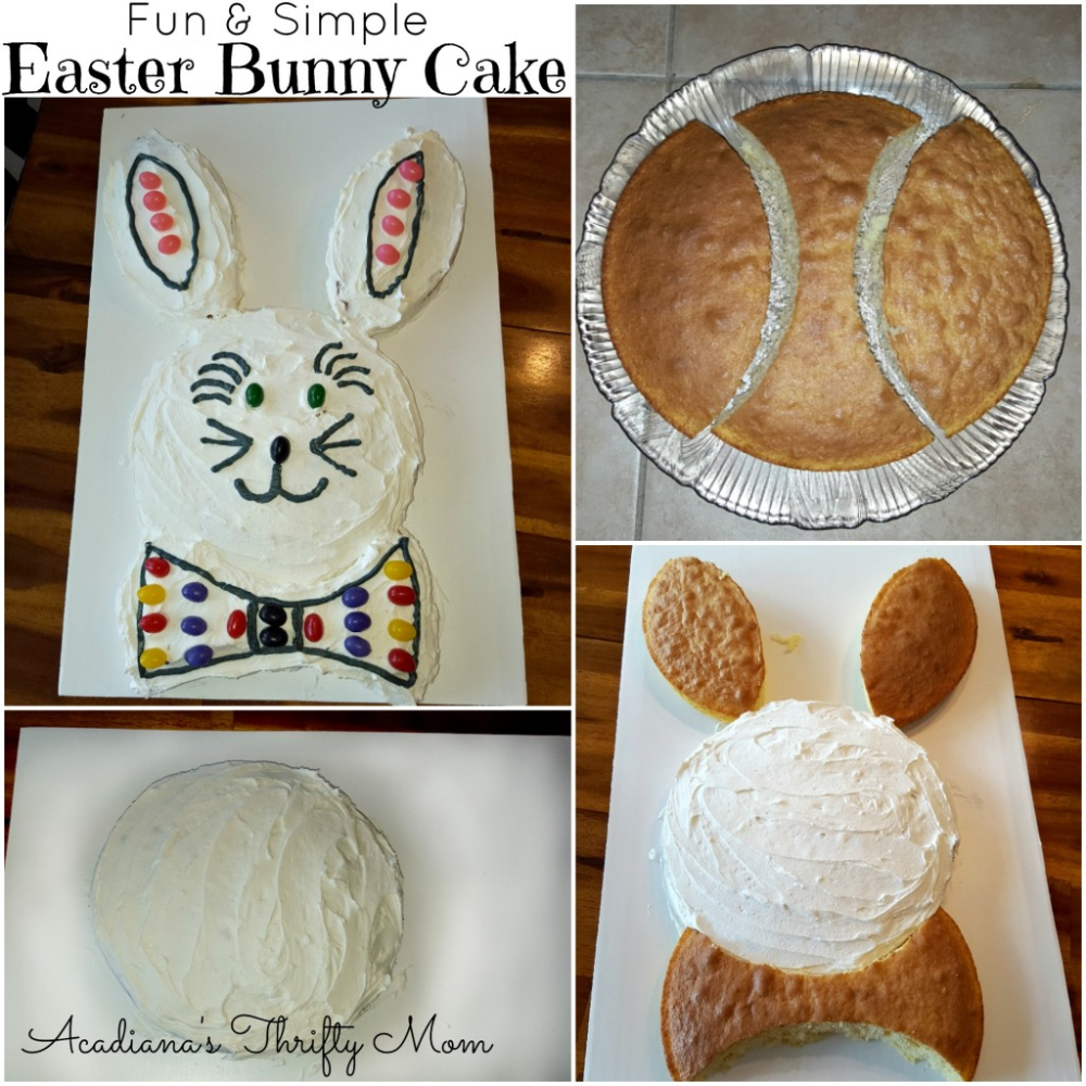 Photo of Fun and Simple Easter Bunny Cake