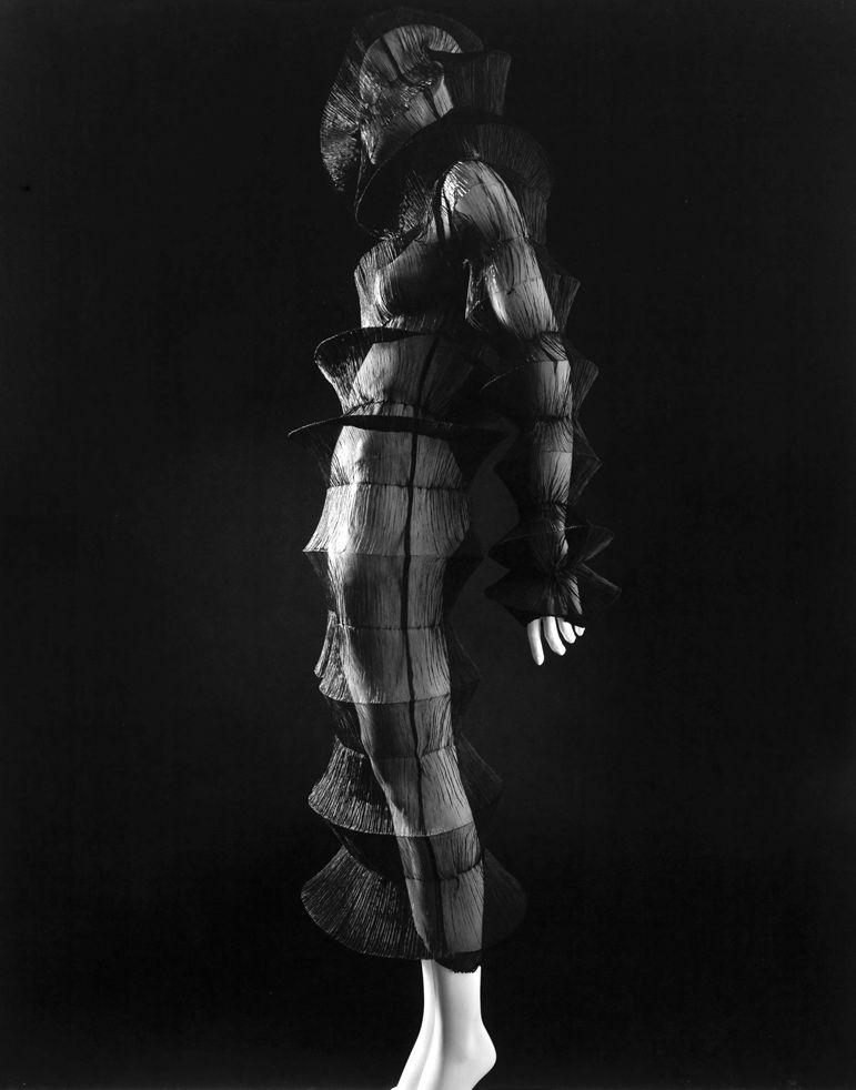 Issey Miyake's dress, Spring/Summer 1994 by Hiroshi Sugimoto