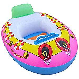 Inflatable Swim Float Water Fun Pool Toys Swim Ring Seat Boat Water Sport Summer...